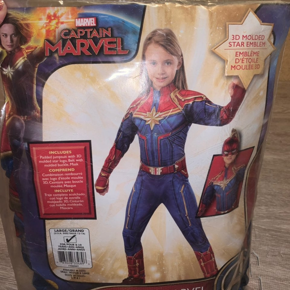 Captain Marvel Child Costume