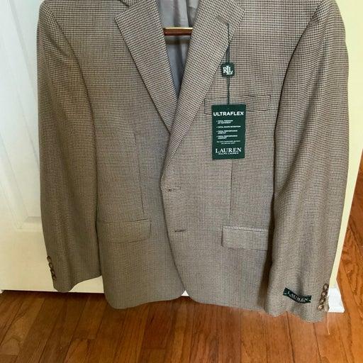 Lauren Men's Suit Blazer Coat