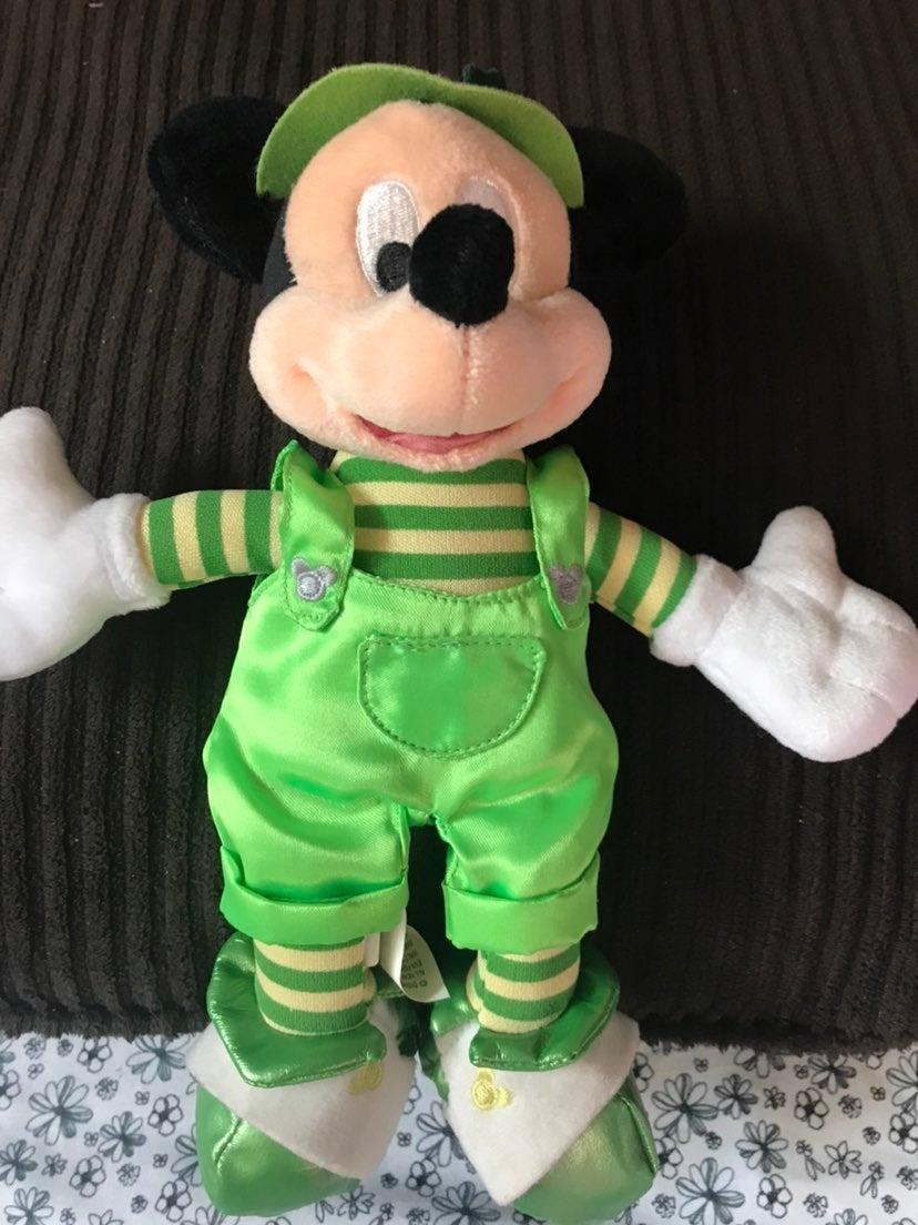 Disney St. Patricks Day Mickey Plush