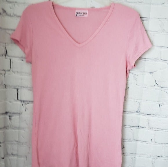 Michael Stars Pink Maternity Top  1 Si