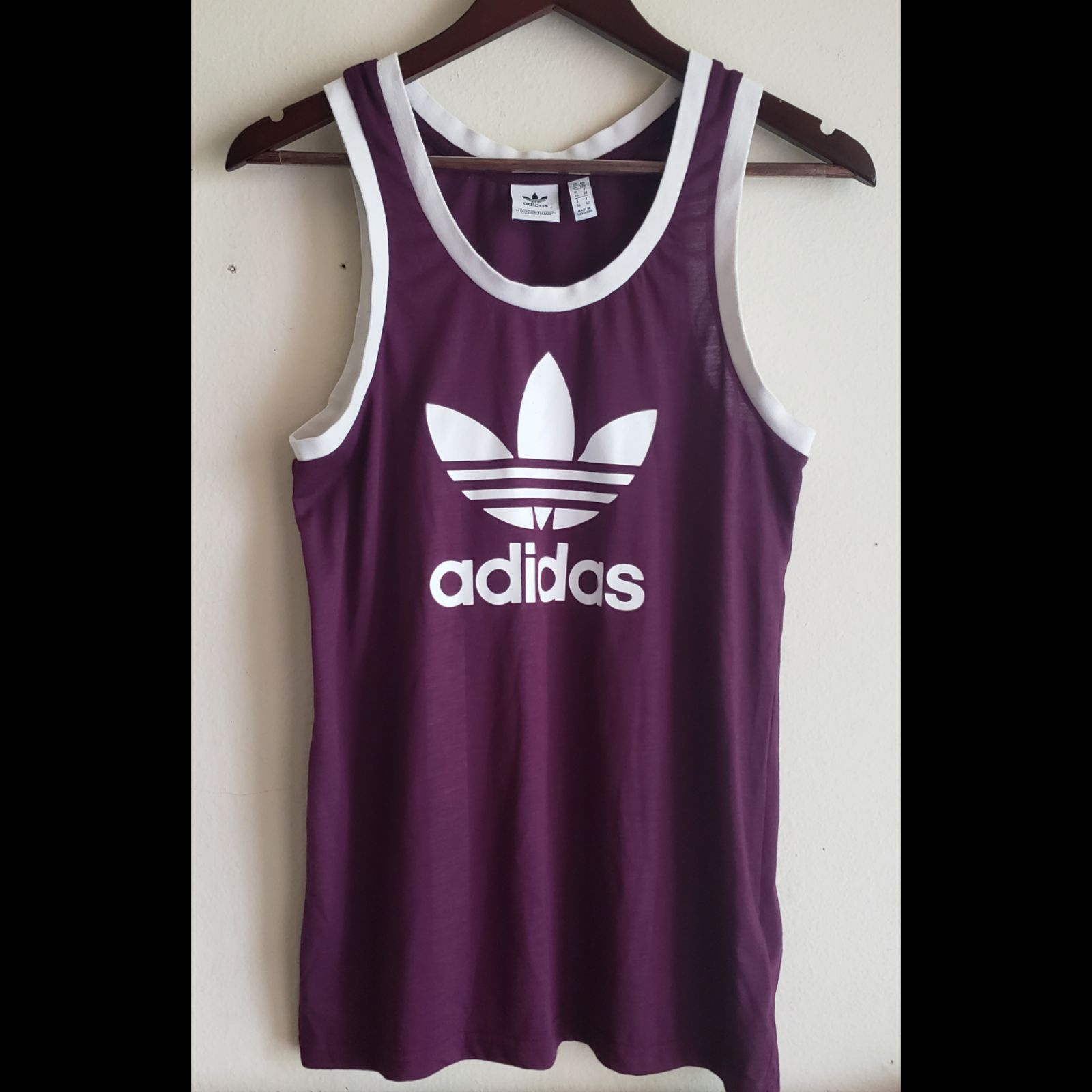Adidas AA-42 Burgundy Womans Tank
