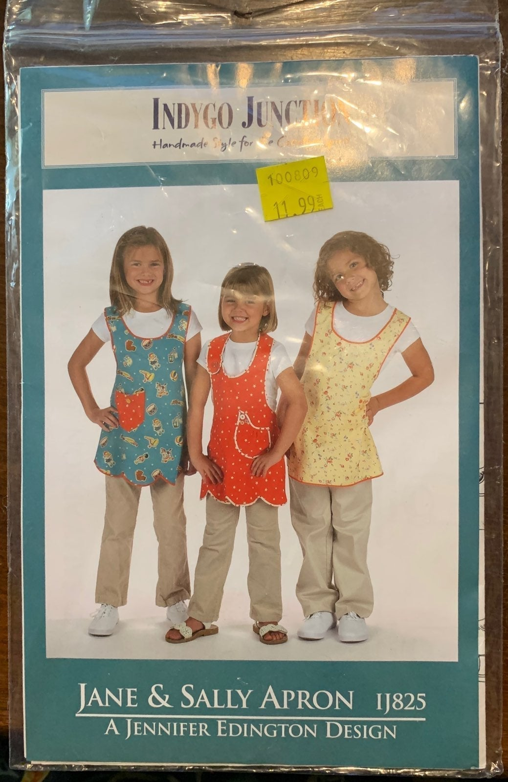 Sewing patterns - aprons