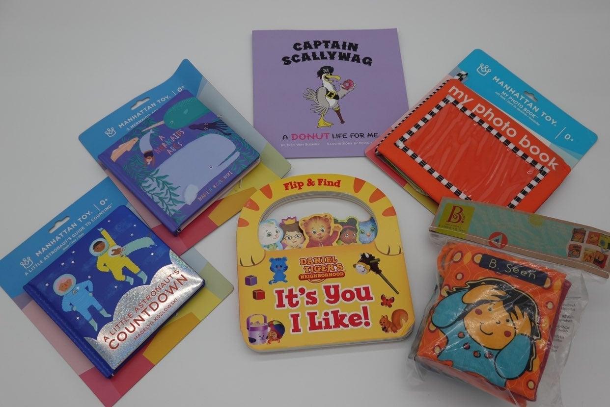 Lot of 6 Childrens Books