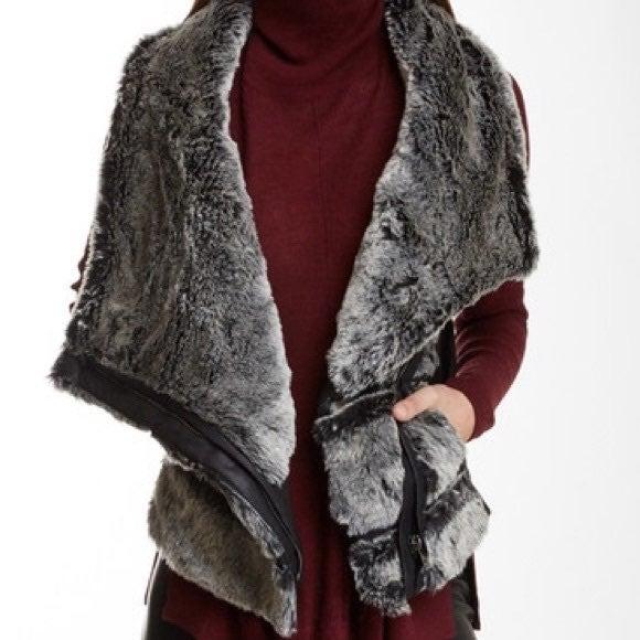 NWT Fate Faux Fur Vest