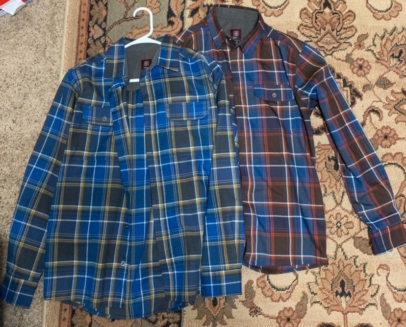 Men's Flannel Button Downed Shirts