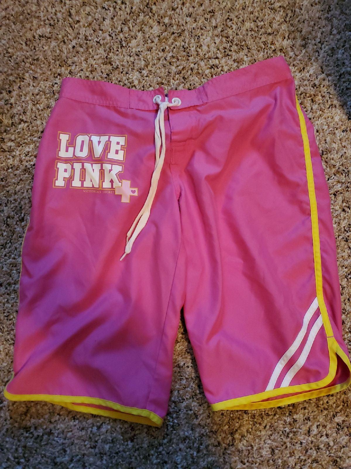 PINK victoria secret shorts small
