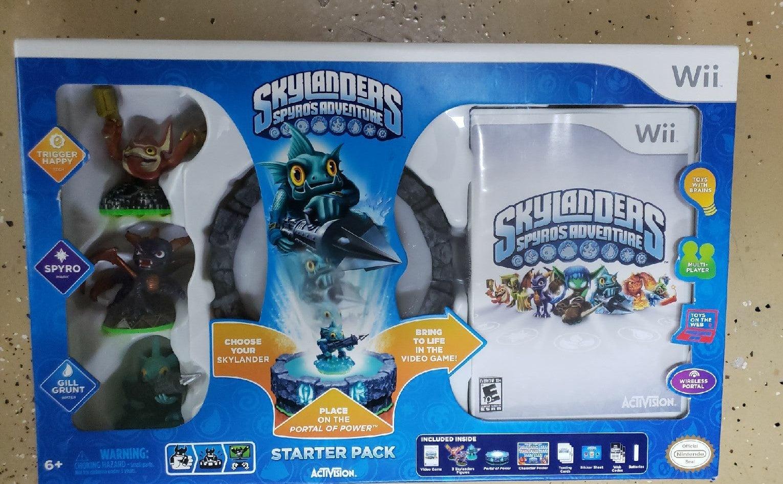 Wii Skylanders: Spyro's Adventure Ninten