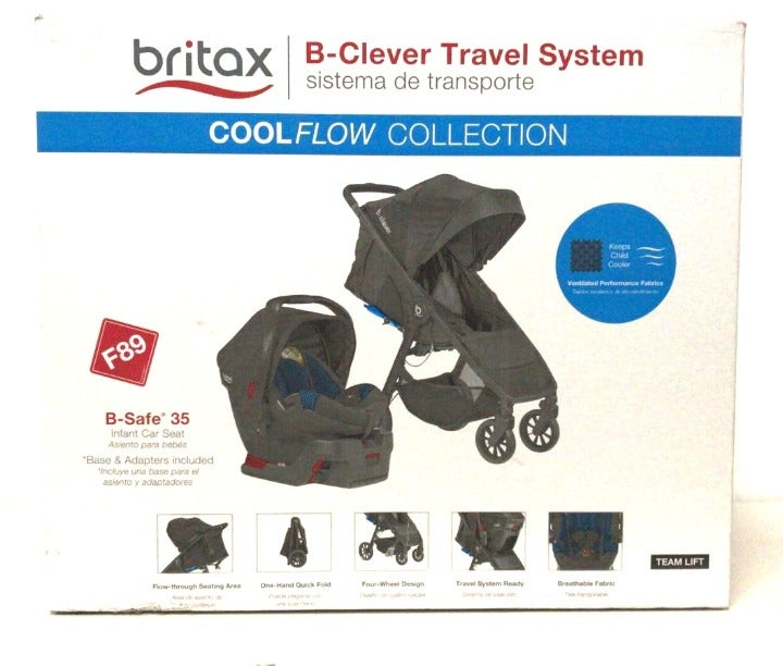 Britax 35 Travel System, Cool Flow Teal