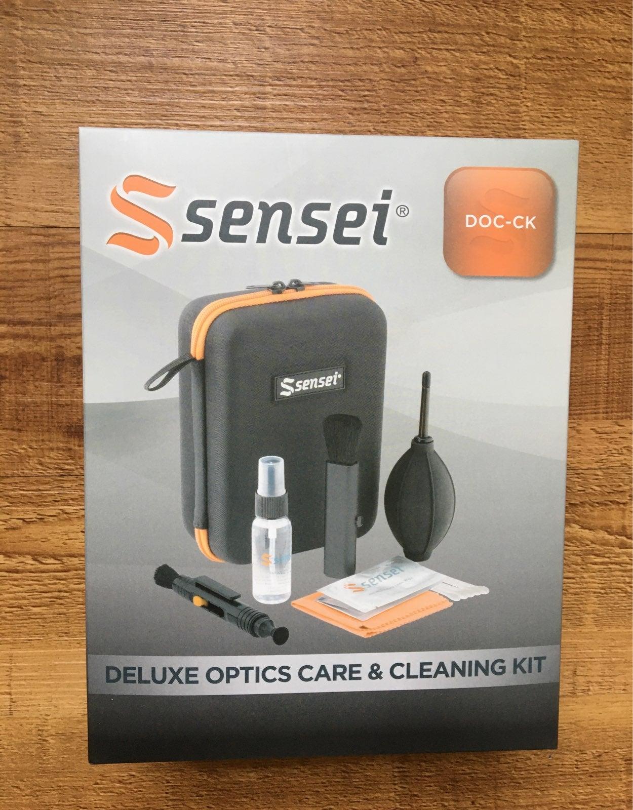 Sensei deluxe optics care & cleaning kit