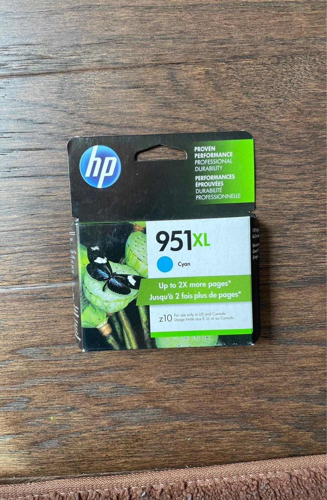 HP 951XL High-Yield Ink Cartridge Cyan