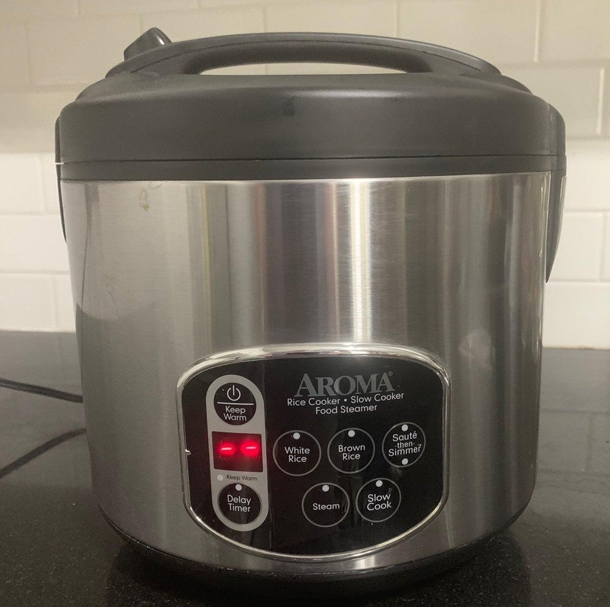 Aroma Rice Cooker Model ARC-1030SB