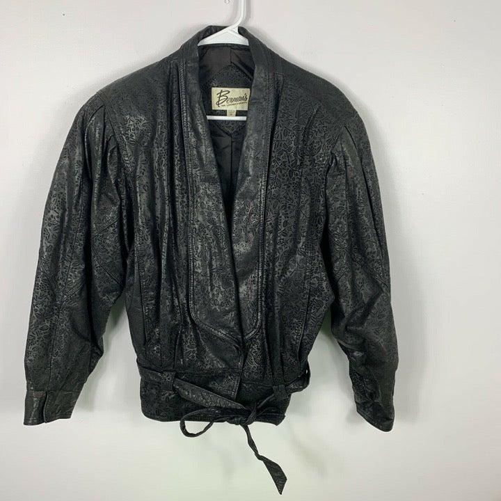 Bermans the leather experts vtg jacket