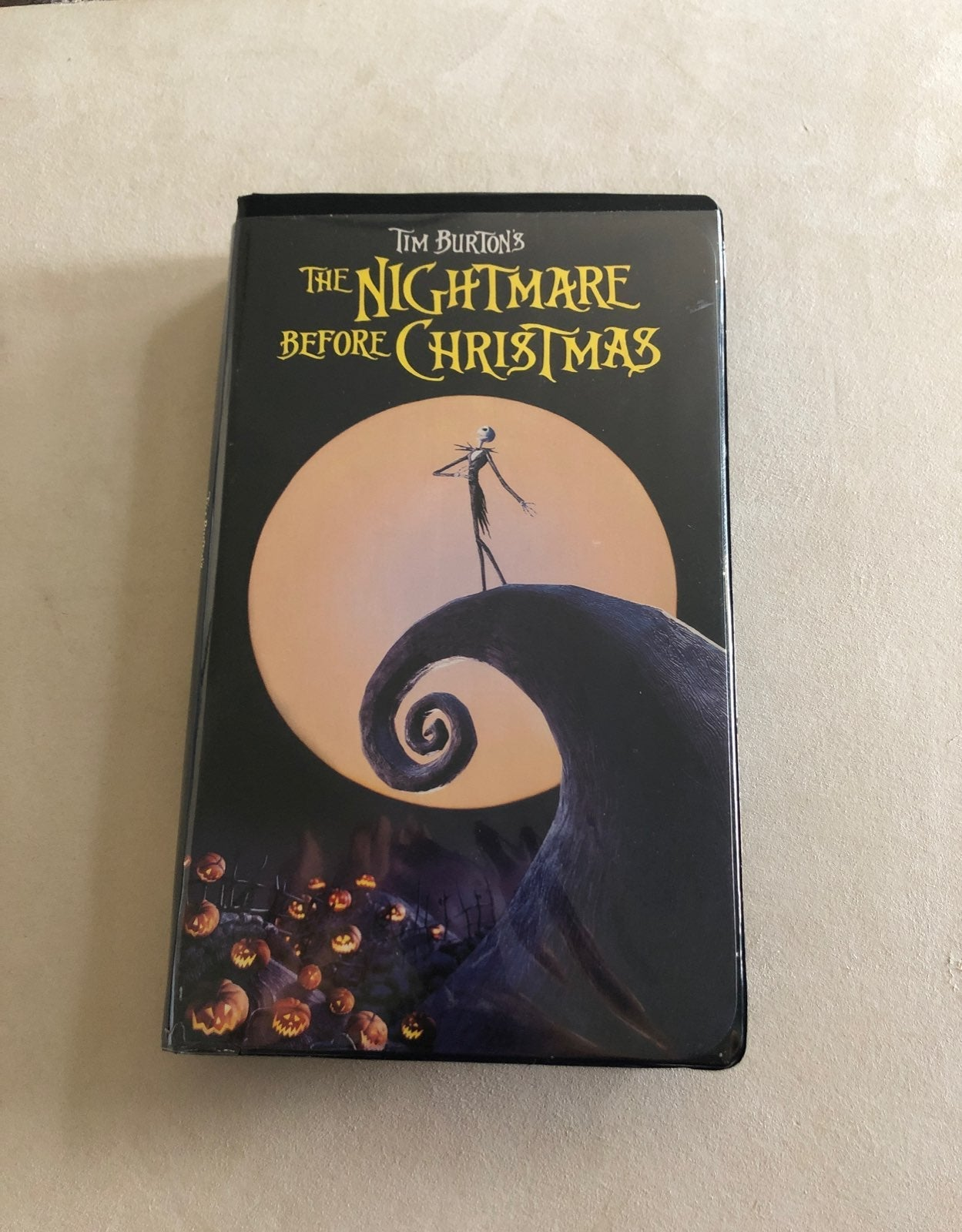 The Nightmare Before Christmas VHS tape