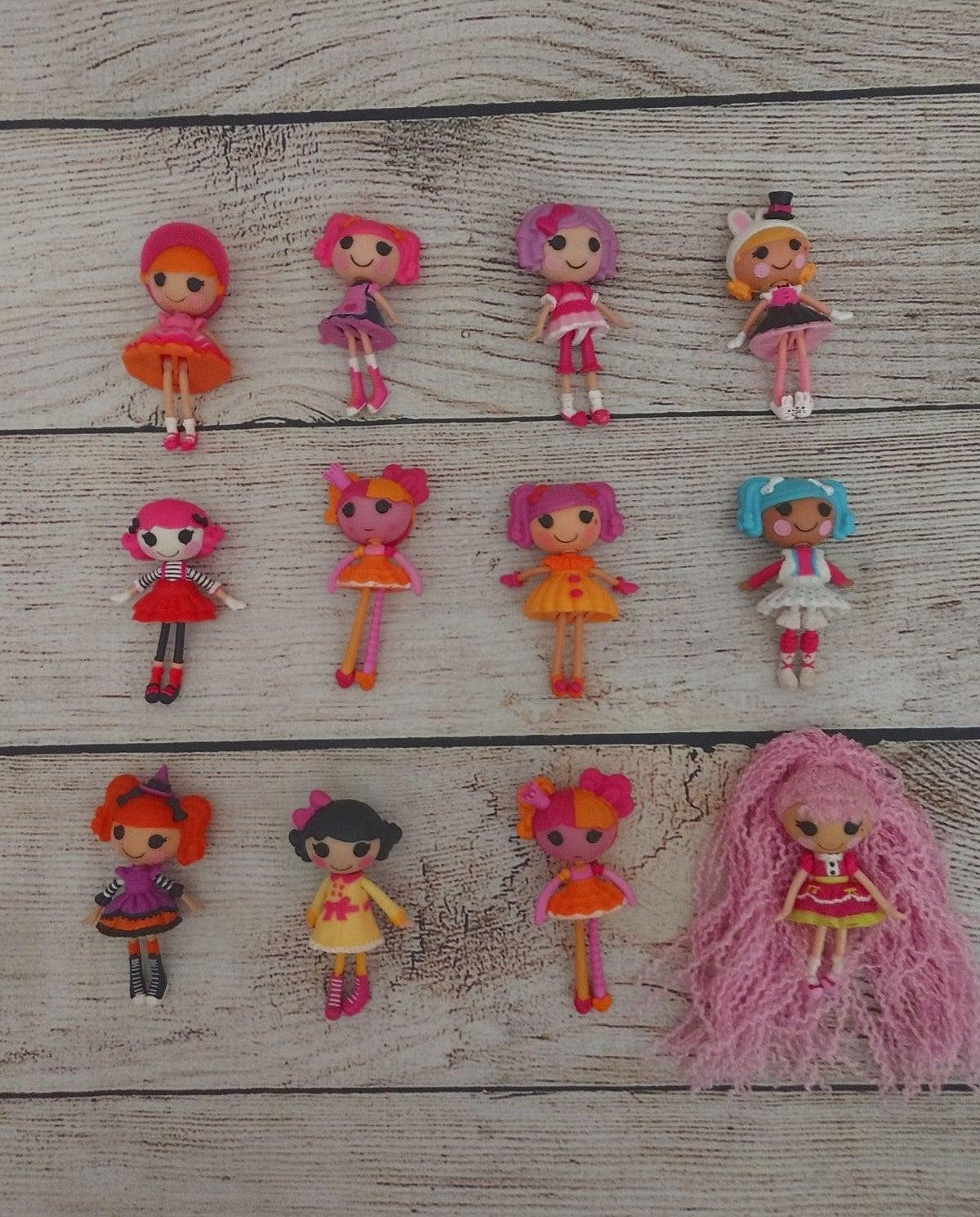 Lot of 12 Lalaloopsy doll bundle