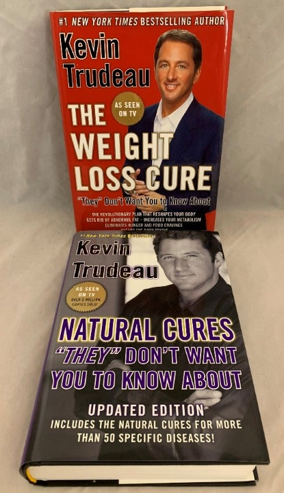 Kevin Trudeau - Pair of Health Books