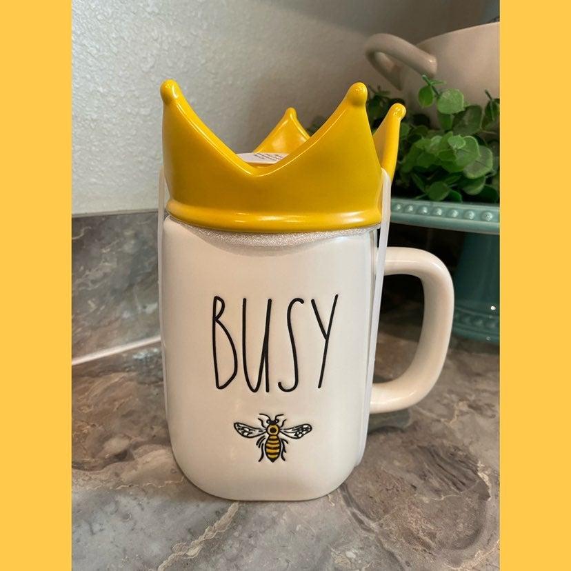 Rae Dunn BUSY Bee Mug