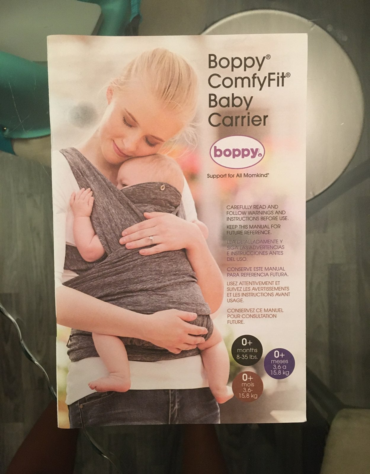 Boppy Baby carrier