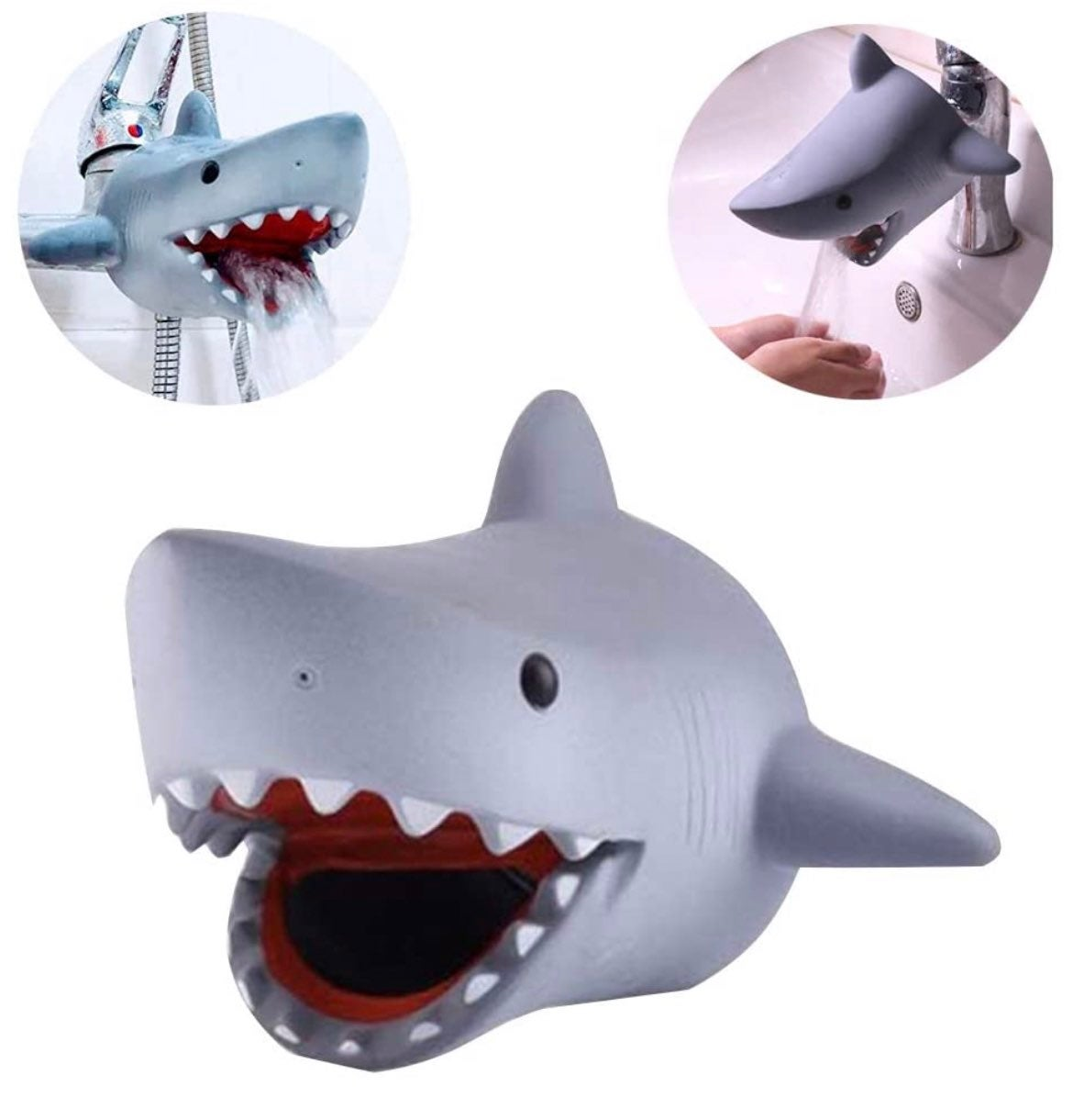 Shark Faucet Cover -Baby Toddler Bathtub