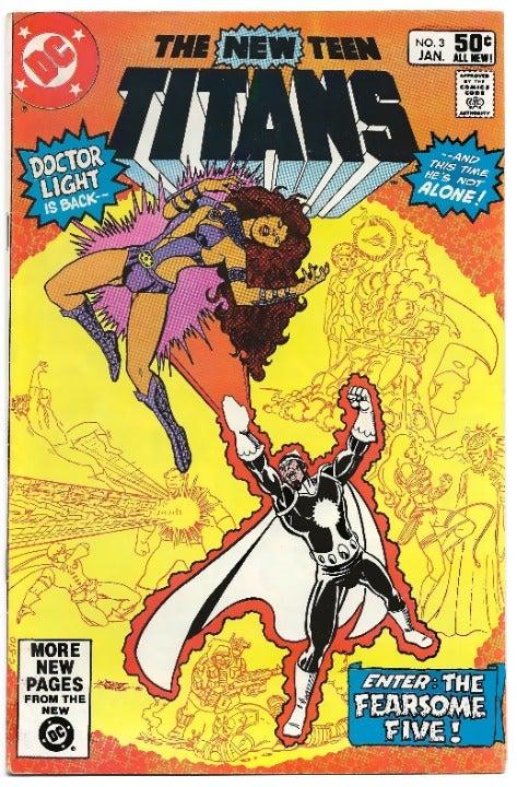 The New Teen Titans #3 (1981) KEY COMIC