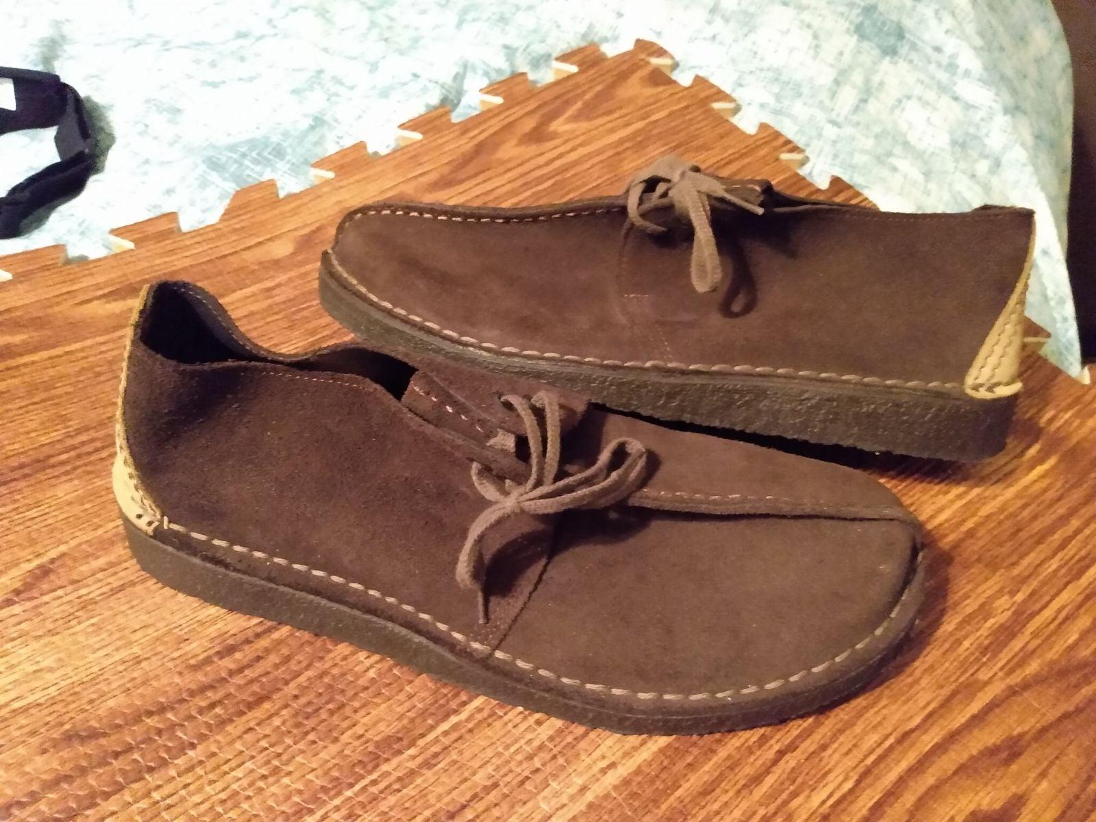 Clarks desert trek shoes size 10
