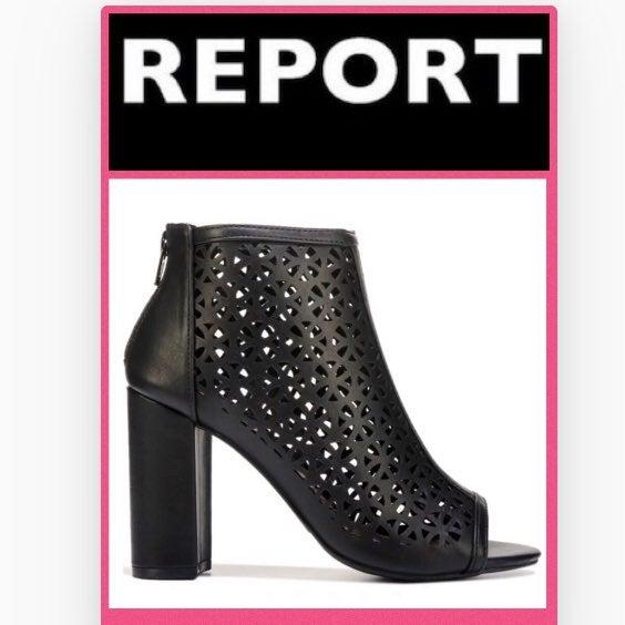 REPORT Winona Peep Toe Booties-10 NWT