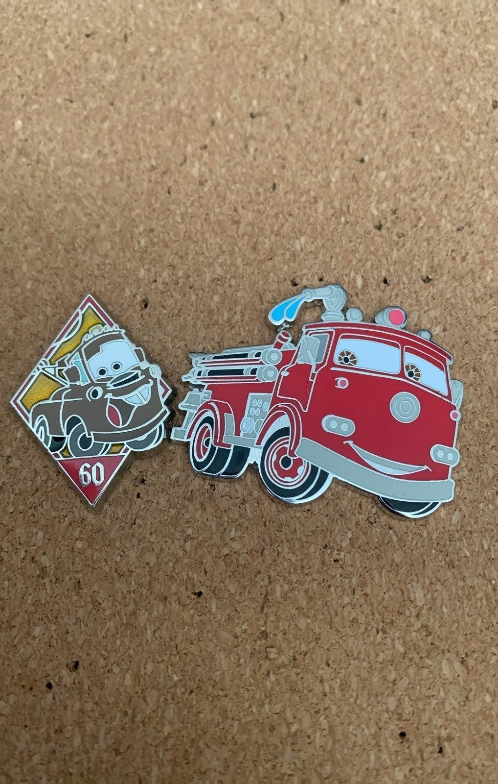 Disney car pins