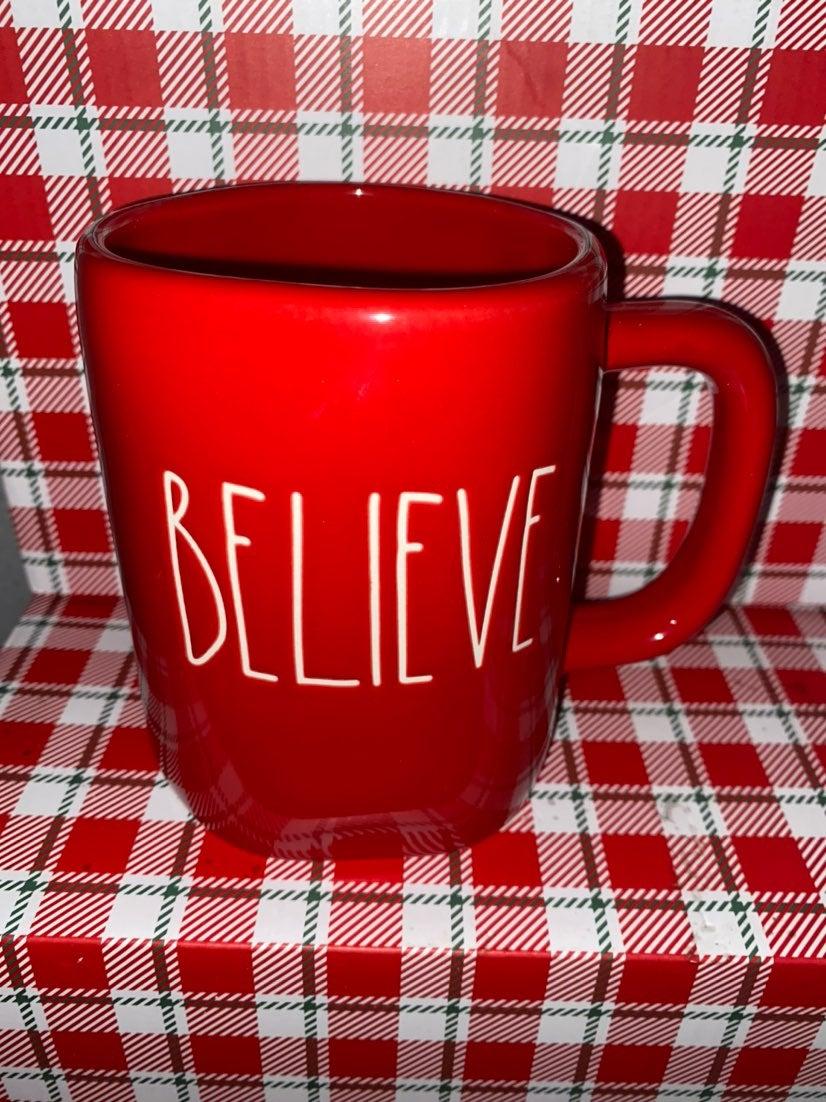 Rae Dunn Believe Mug