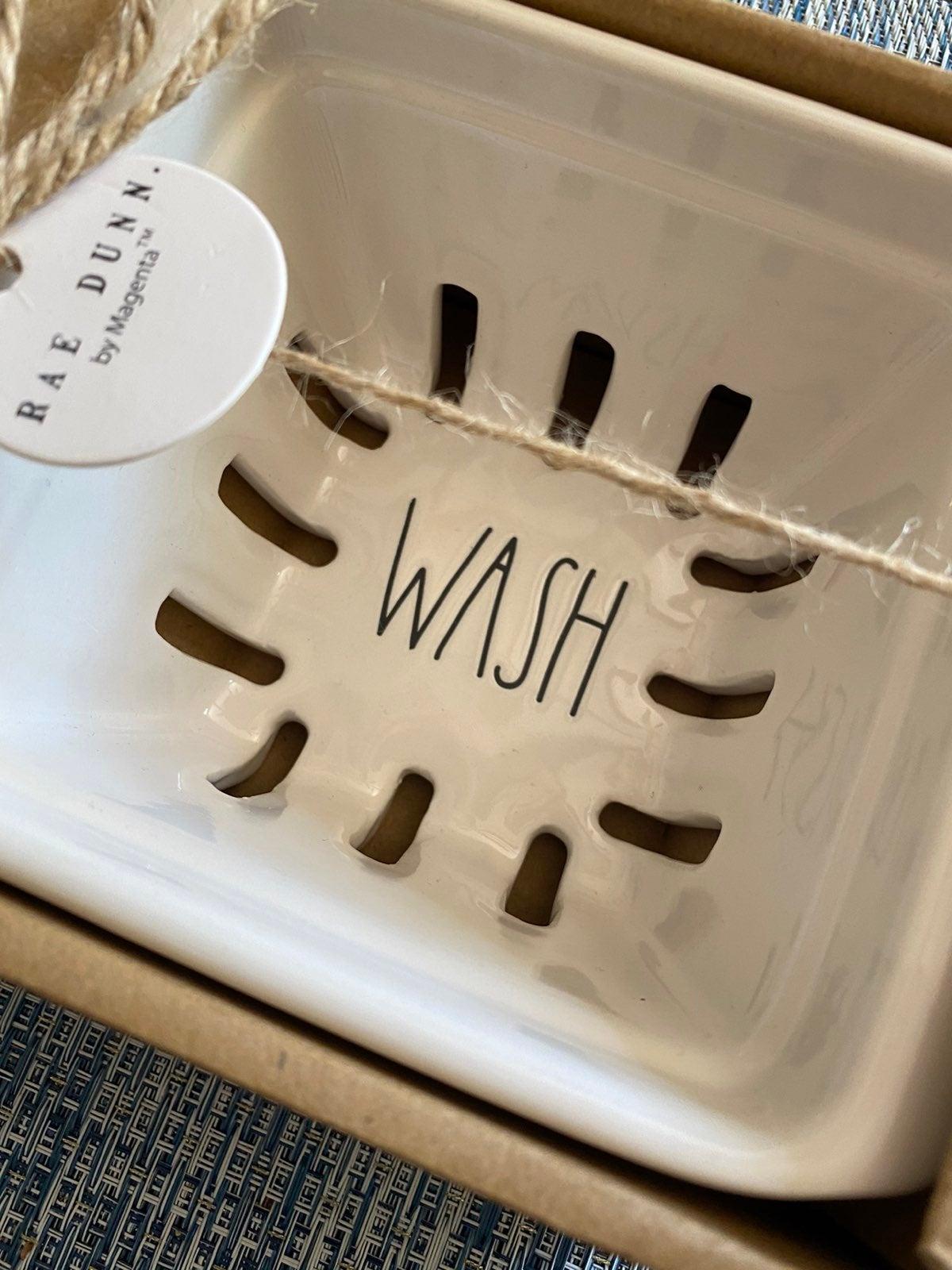 Rae Dunn Rinse & Wash Baskets