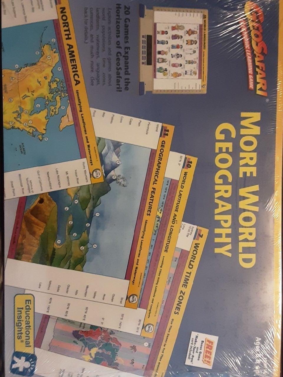 GeoSafari Cards Geography