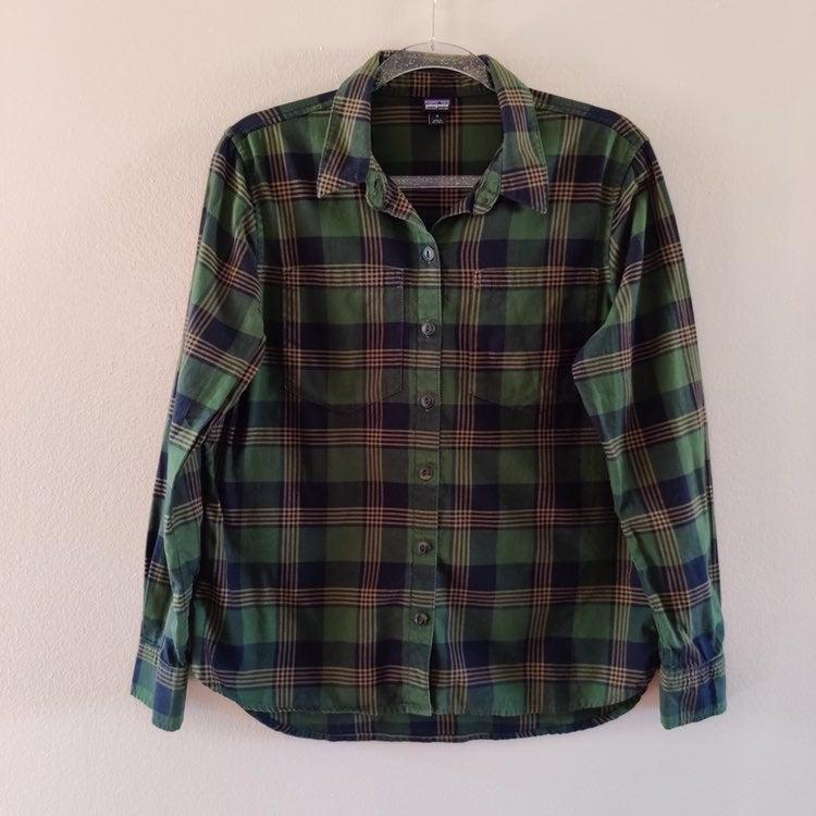 Patagonia paid oxbow long sleeve shirt