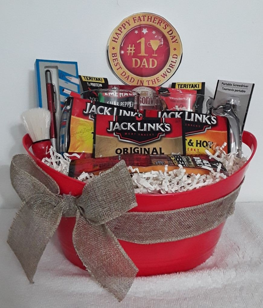 Father's Day Surprise Gift Basket