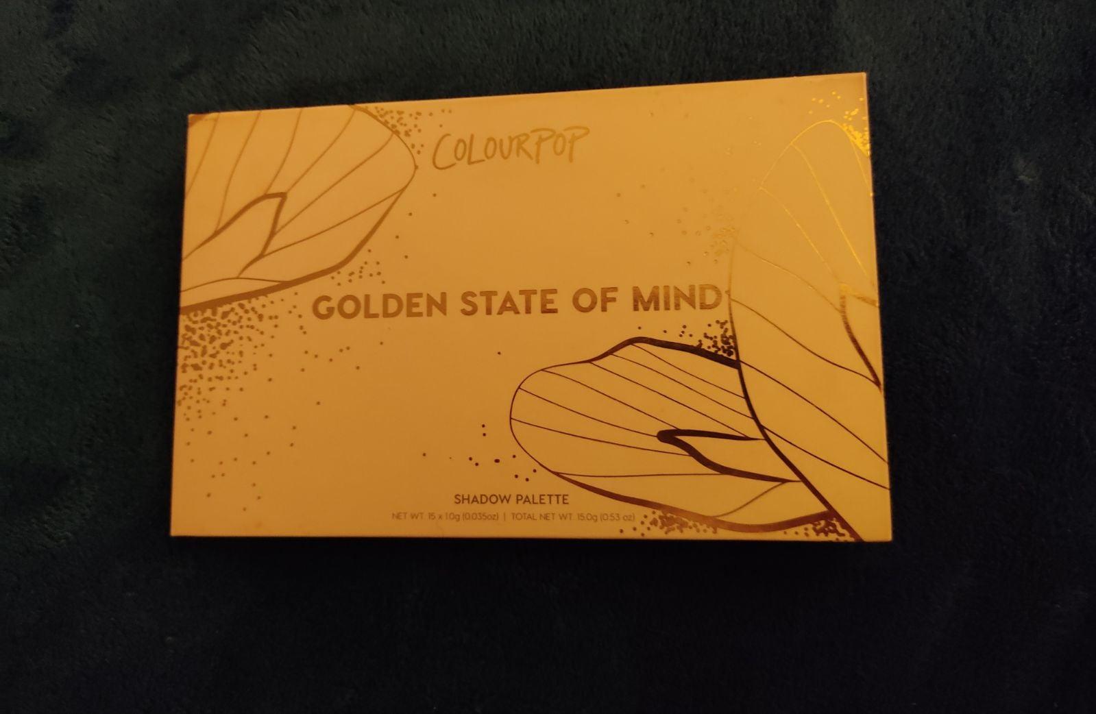 Colourpop Golden State of Mind
