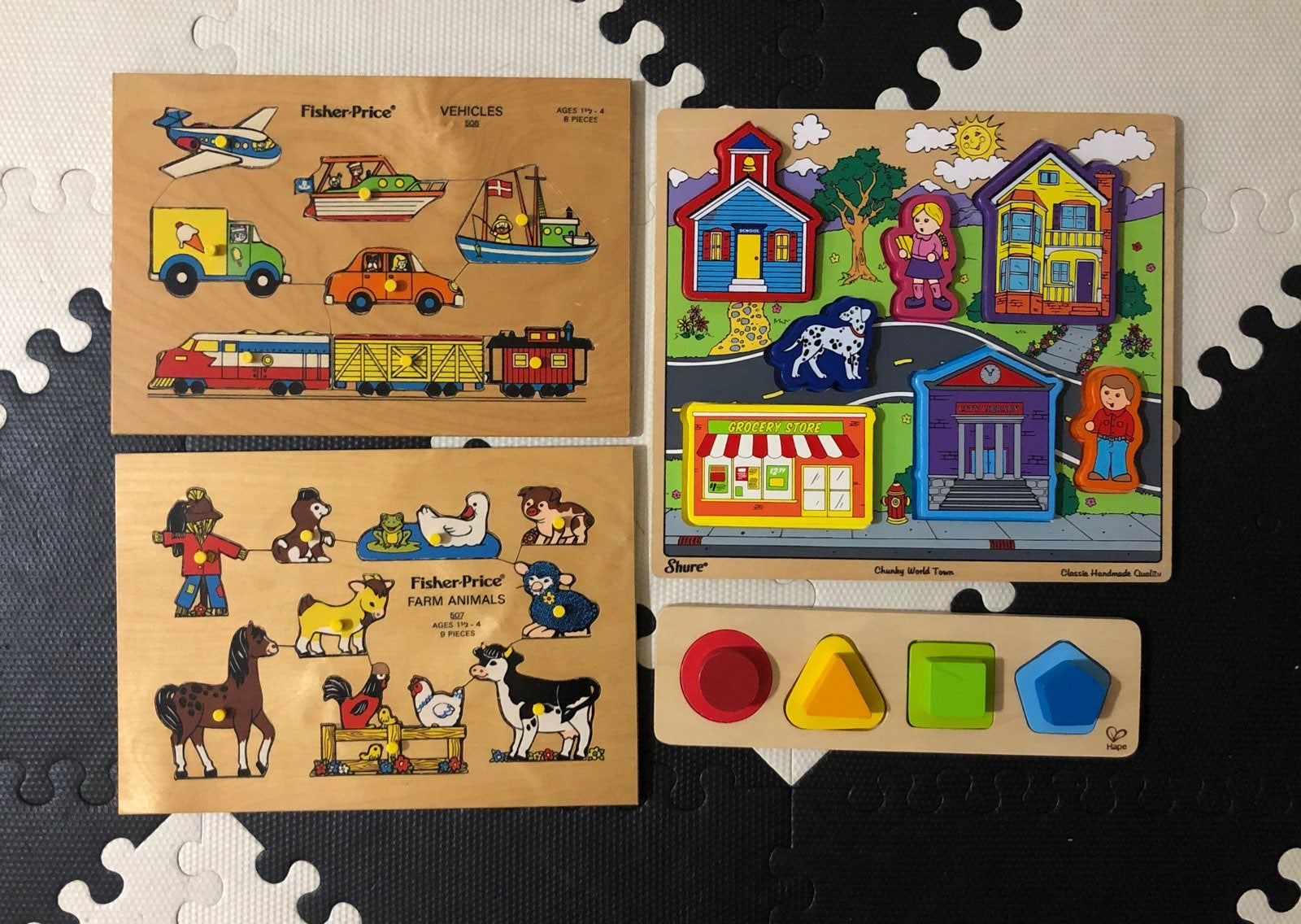 Puzzles (set of 4)