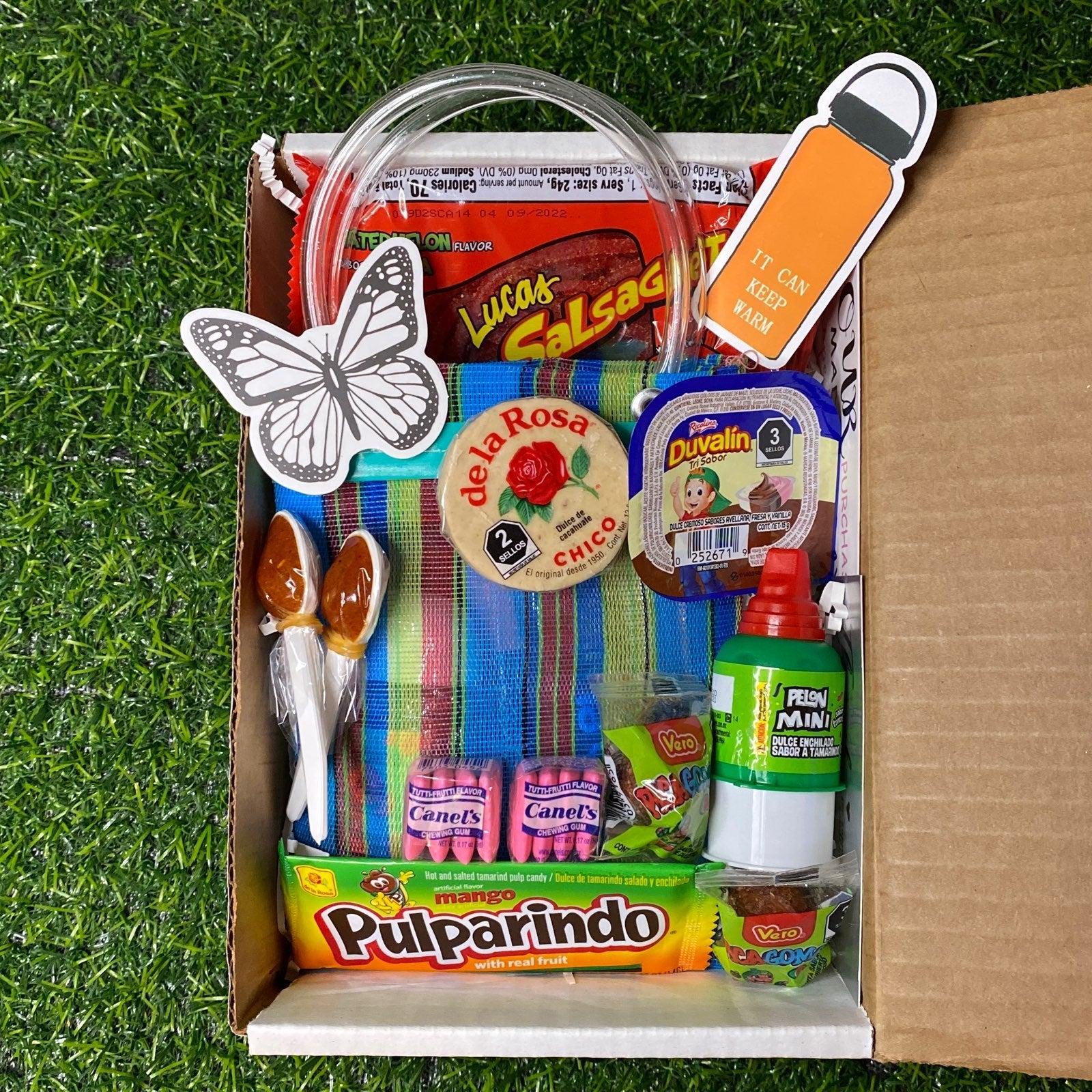 Mini Mexican Mercado Bag Lipgloss Bundle