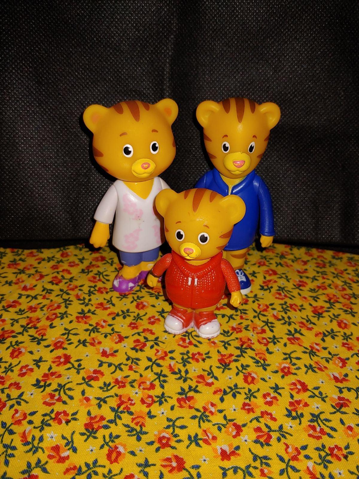 Daniel Tiger Toy Lot