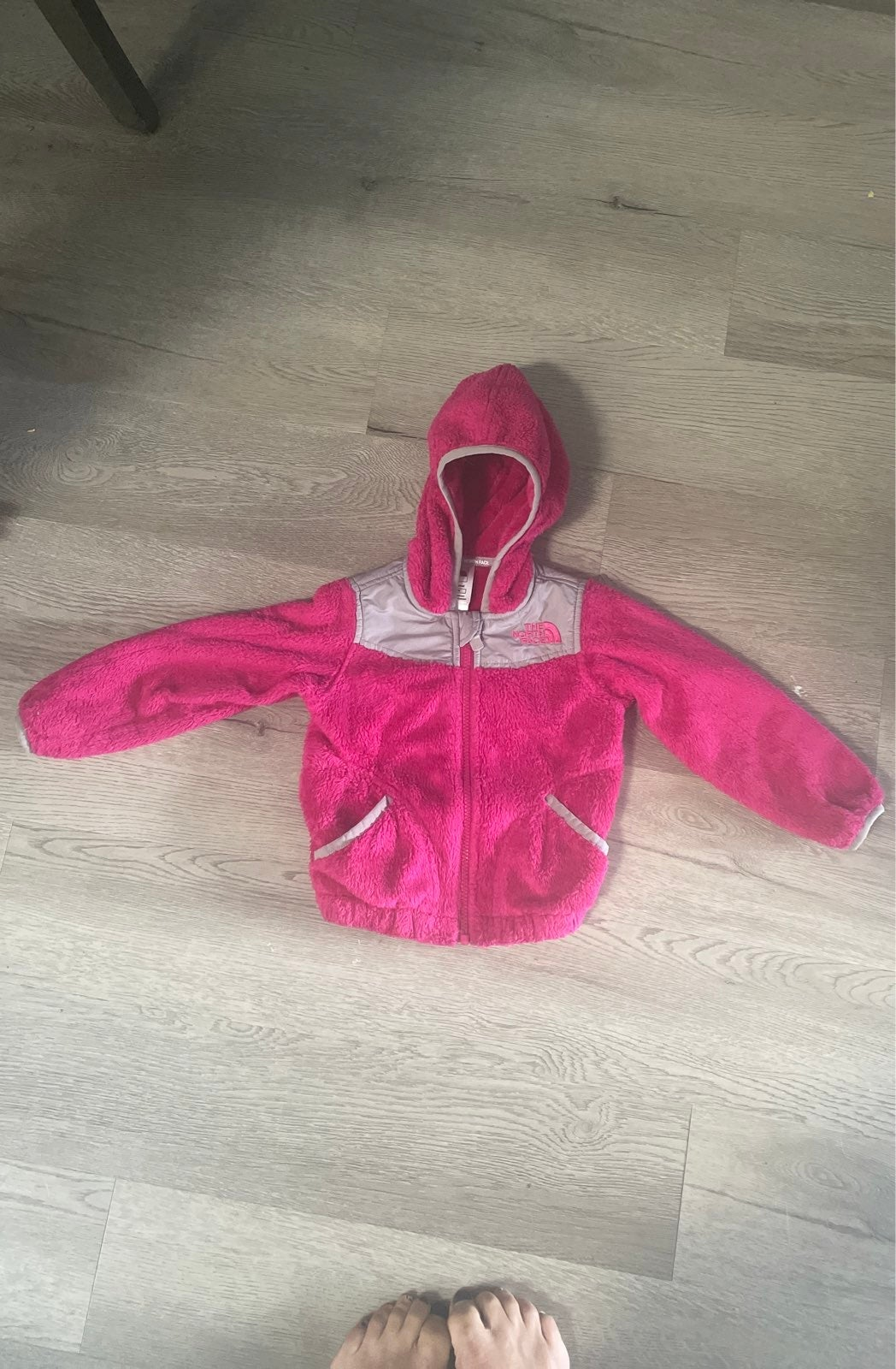 toddler north face hoodie