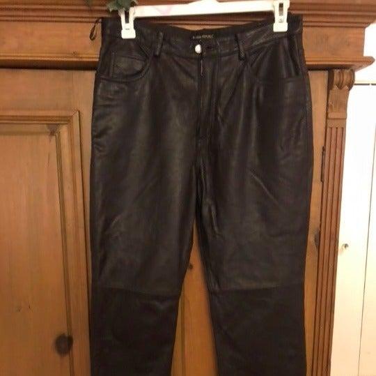 Banana Republic brown Leather Pants New