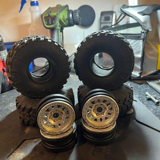 Scx 10 iii Tires And Rims