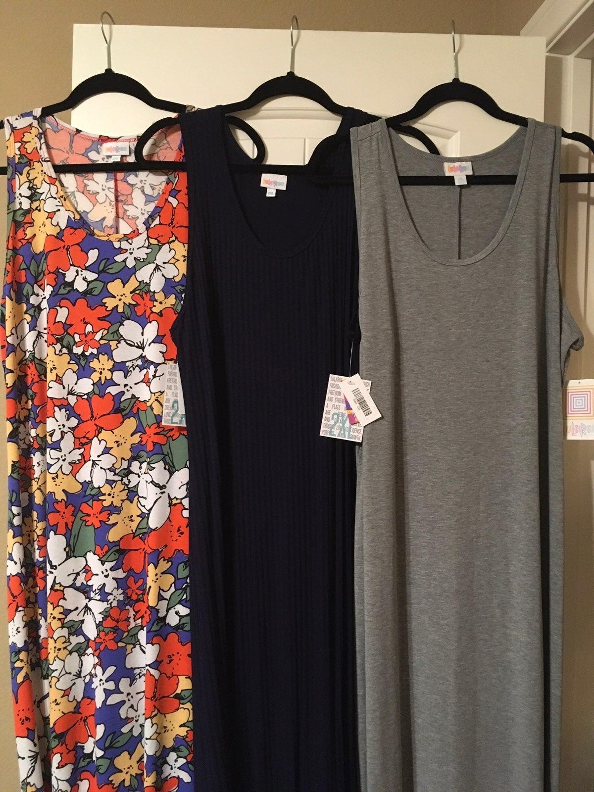 NWT Lularoe 2XL Dani Dress bundle