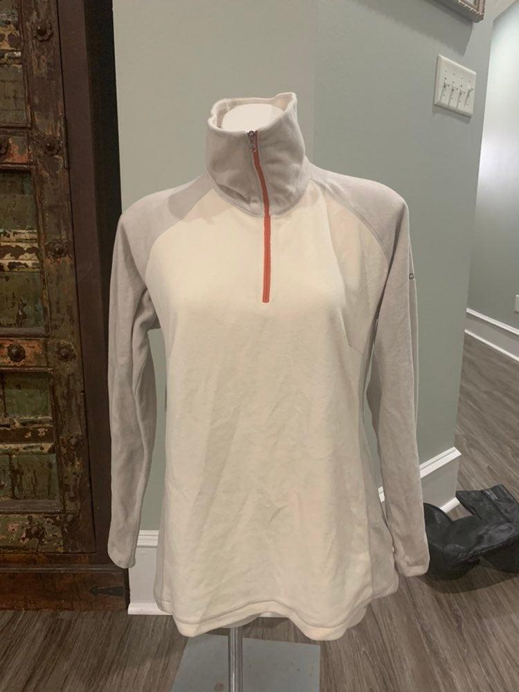 EUC Columbia fleece pullover XL zip