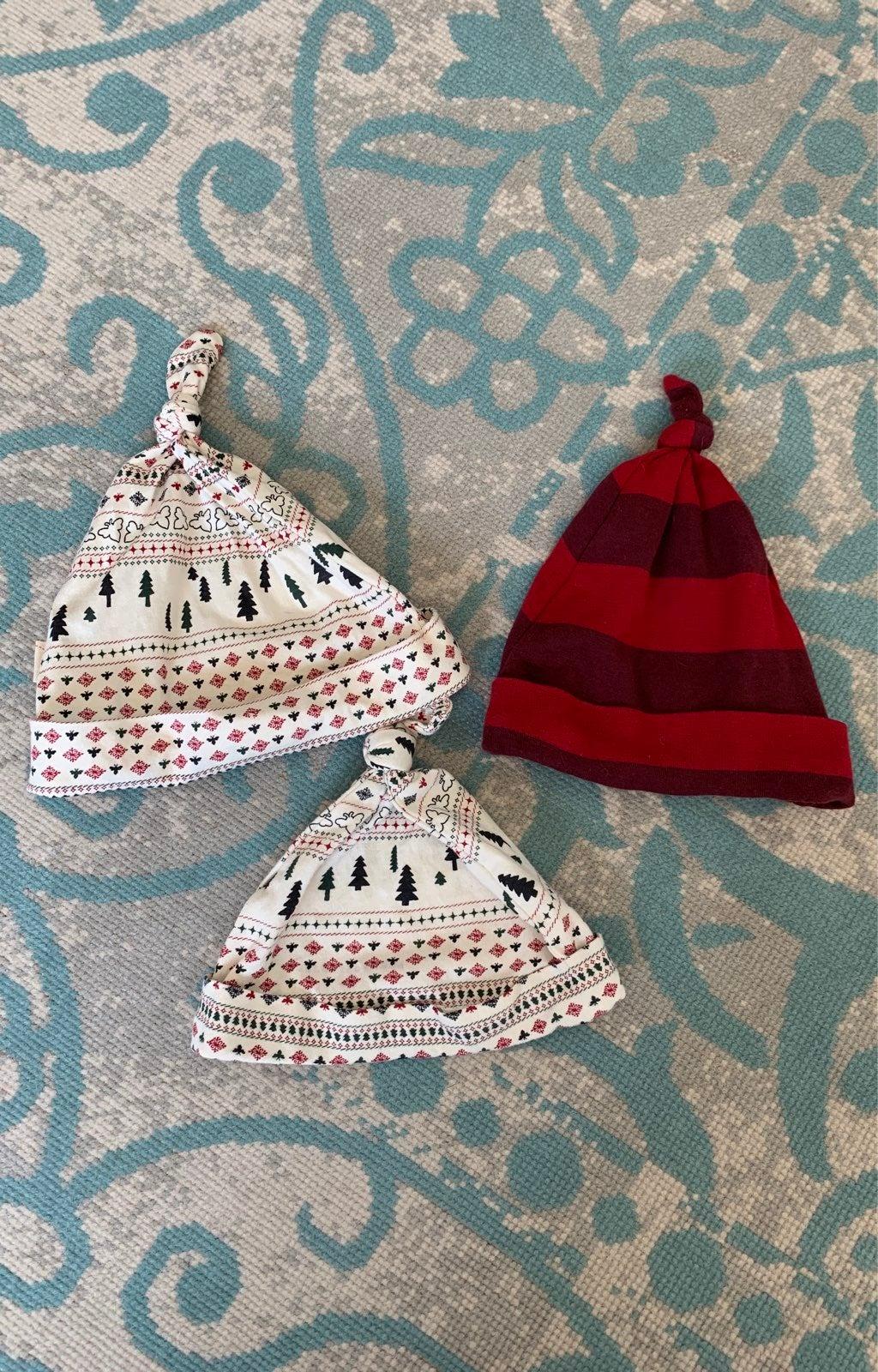 Burts bees baby hats