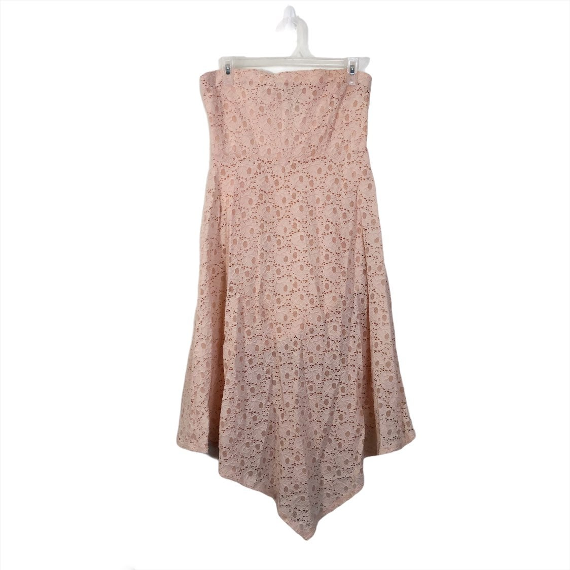 Moda International Strapless Lace Dress