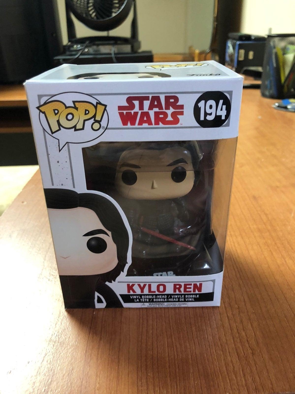 Funko Pop Star Wars Kylo Ren
