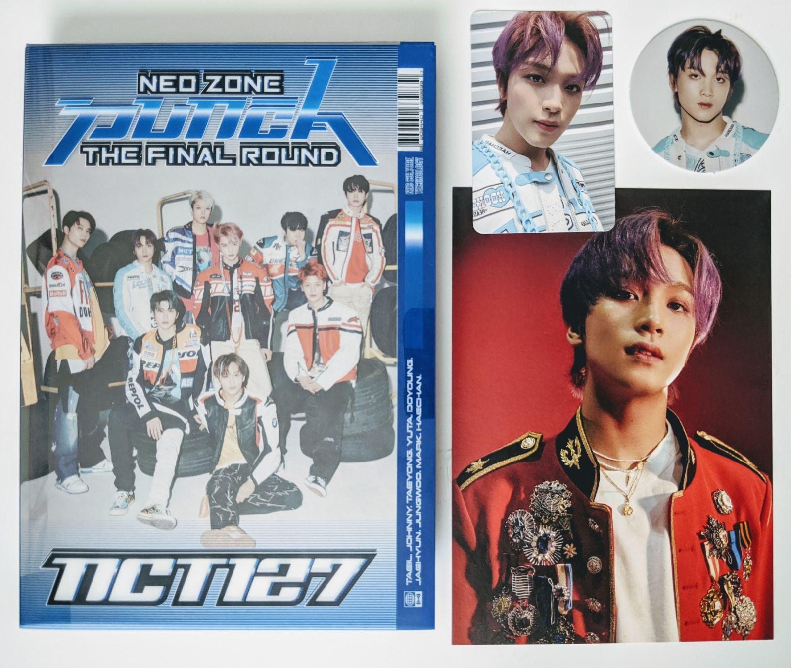NCT 127 FINAL ROUND haechan full set