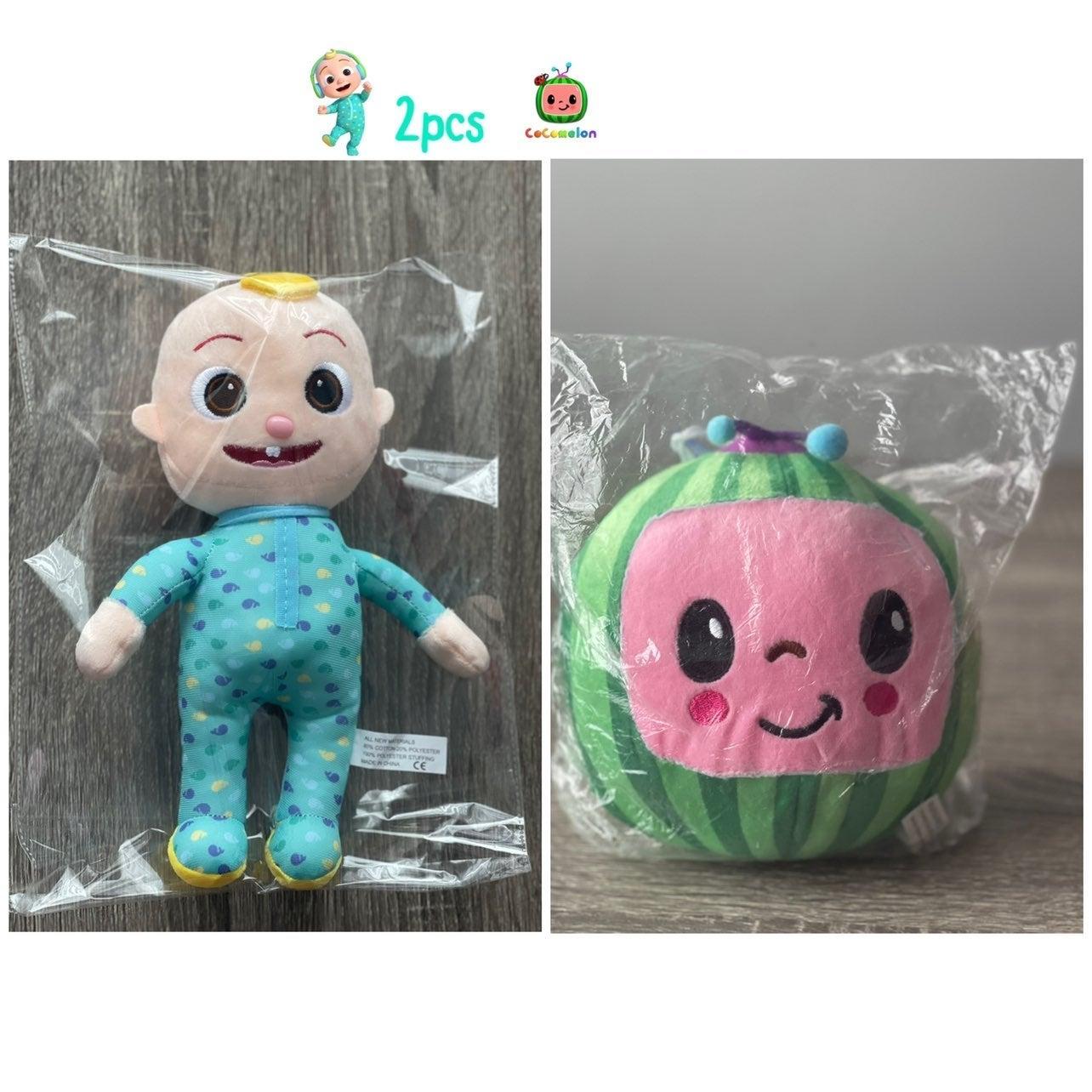 Cocomelon 2pcs JJ Doll and Watermelon.