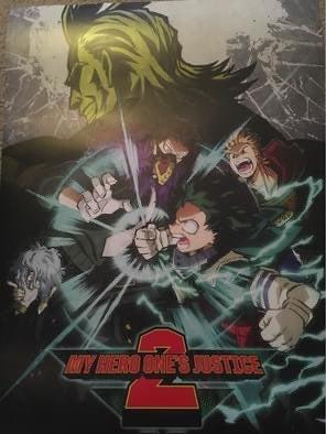 My hero ones justice poster!