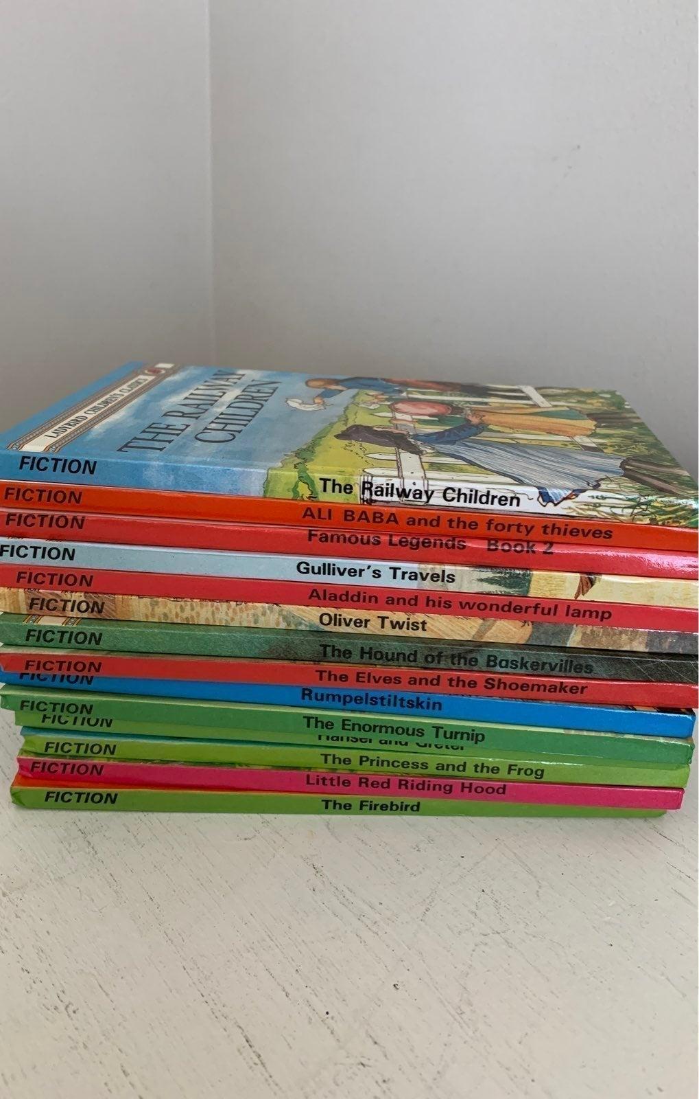 14 Ladybird Book Set