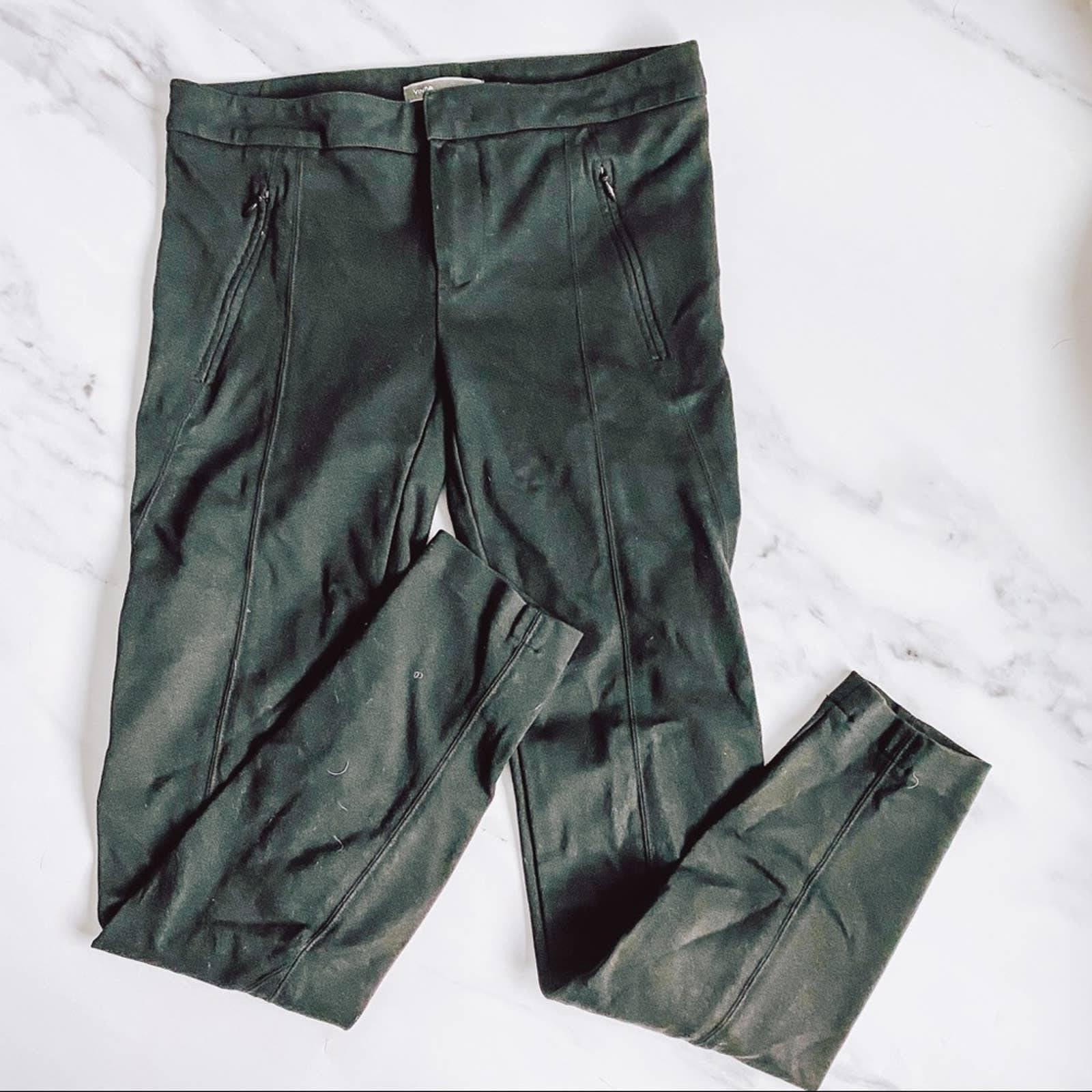 Vince Black Stretchy Pants Size 2