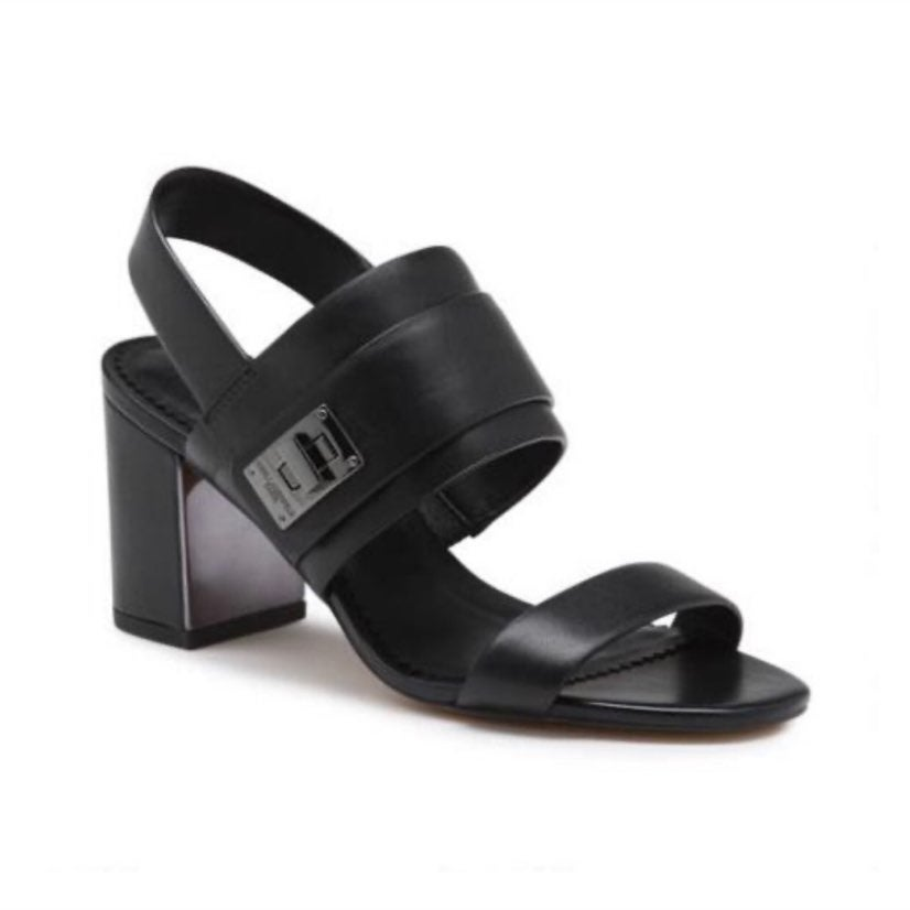 Karl Lagerfeld Paris Leather Sandals