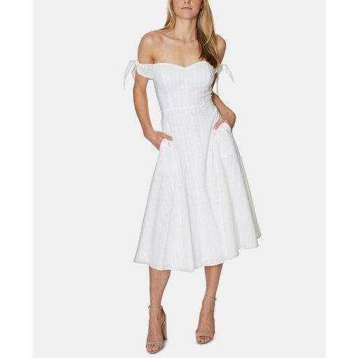 NWT Avec Les Filles Off Shoulder Dress 8